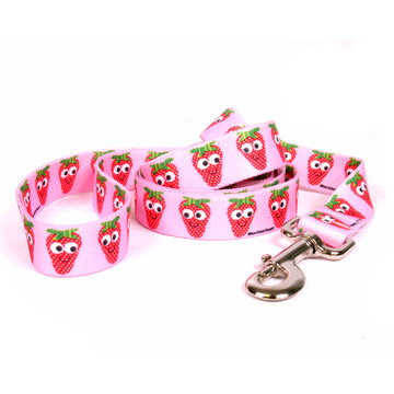 Sweet Strawberries Dog Leash