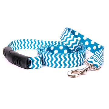 Chevron - Blueberry Uptown Dog Leash