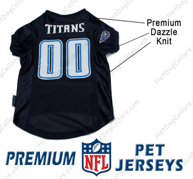 Tennessee Titans PREMIUM NFL Football Pet Jersey