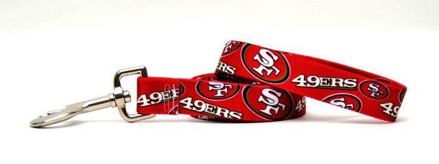 San Francisco 49ers Logo Dog Leash