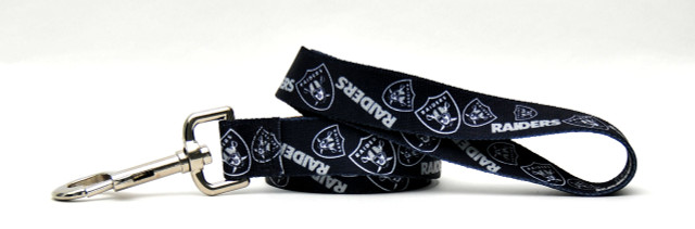 Oakland Raiders Logo Dog Leash