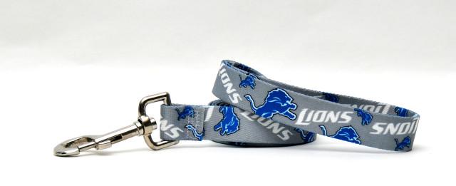 Detroit Lions Logo Dog Leash