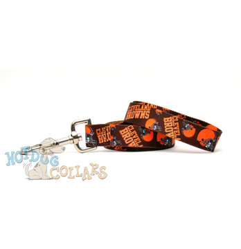 Cleveland Browns Logo Dog Leash