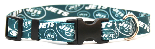 New York Jets Logo Dog Collar