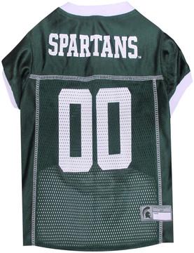 Michigan State Football Dog Jersey