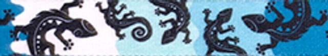 Geckos Teal Waist Walker