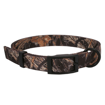 Real Tree Max4 Camouflage Buckle Dog Collar - D In Front