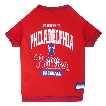 Philadelphia Phillies Tee Shirt For Dogs