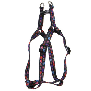 Cat Faces Step-In Dog Harness