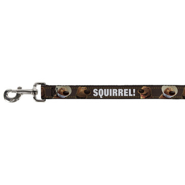 Dug Tongue Out Squirrel! Buckle Down Dog Leash