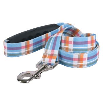 Southern Dawg Madras Blue Premium Dog Leash