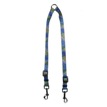 Flowerworks Blue Coupler Dog Leash