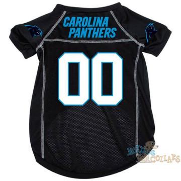 Carolina Panthers NFL Football Dog Jersey - CLEARANCE