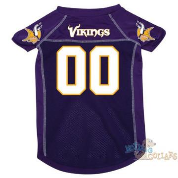 Minnesota Vikings NFL Football Dog Jersey - CLEARANCE