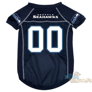 Seattle Seahawks NFL Football Dog Jersey - CLEARANCE