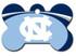 North Carolina UNC Tarheels Engraved Pet ID Tag