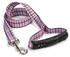 Tartan Pink EZ-Grip Dog Leash