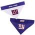 Reversible New York Giants NFL Pet Bandana