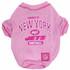 N.Y. Jets NFL Football PINK Pet T-Shirt