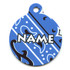 Bandana Blue HD Pet ID Tag