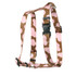 Pink Cow Roman Style H Dog Harness
