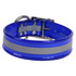 Blue REFLECTIVE 1.5In WIDE SunGlo All Weather Dog Collar