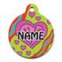Crazy Hearts Hi-Def Pet ID Tag