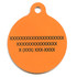Candy Corn HD Pet ID Tag