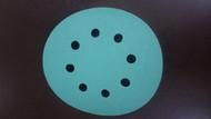 100 Discs Oslong Abrasives L338 Green Film 5-inch Sanding Discs grits 80 - 320 Choose Backing