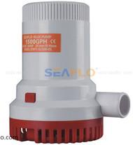 SEAFLO 1500 GPH 12V 9.0A Submersible Marine Boat Electric Bilge Pump