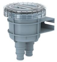 "Seaflo Marine Raw Water Intake Strainer 1""/1.25""/1.5"" Hose Size"