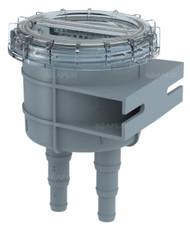 "Seaflo Marine Raw Water Intake Strainer 1/2""/ 5/8""/ 3/4"" Hose Size"