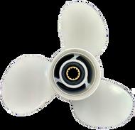11 3/8x12-G Aluminum Outboard Propeller for Yamaha 40-60 HP 69W-45952-00-EL