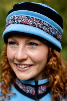 AURORA HAT / (Windblock Fleece) / Aster,  Black,  / Totem-Brite (trim)