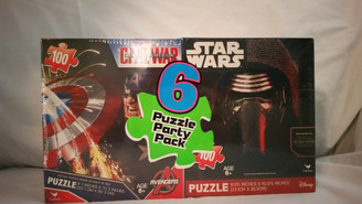 Star Wars Puzzle 6 Pack