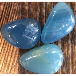 Blue Onyx for healing grief, self control, decisions