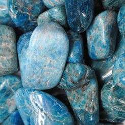 Blue Apatite for new ideas, willpower, authenticity
