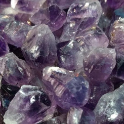 Amethyst Teeth for spirit connection, sleep, protection