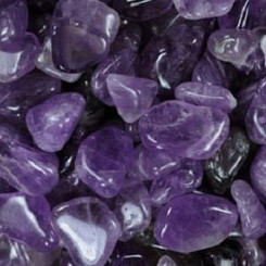 Amethyst for spirit connection, sleep, protection