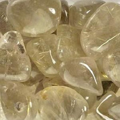 Rutilated Quartz for achieving goals, progress, focus