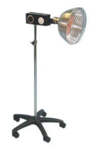 Professional infra-red ceramic 750 watt lamp, timer and intensity control (181181)