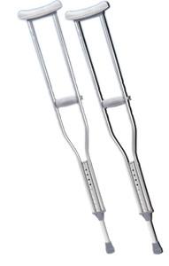Adjustable Aluminum Crutches (432054)