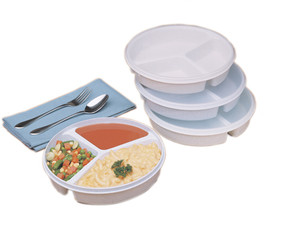 Partitioned Scoop Dishes (620130)