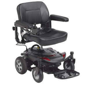 "Titan LTE Power Wheelchair, 18"" Folding Seat"