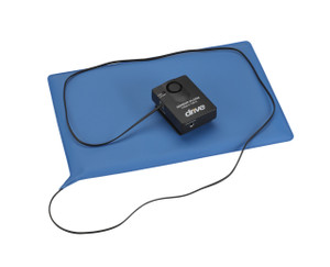 "Pressure Sensitive Bed Chair Patient Alarm, 10"" x 15"" Chair Pad"