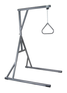 Bariatric Heavy Duty Trapeze Bar, Silver Vein
