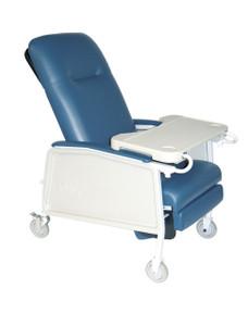 3 Position Geri Chair Recliner, Blue Ridge