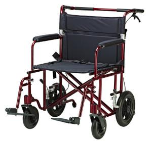 Bariatric Heavy Duty Transport Wheelchair