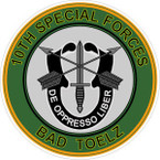 STICKER US ARMY VET SPECIAL FORCES BAD TOELZ