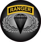 STICKER US ARMY VET FORCE RANGER BASIC PARACHUTE